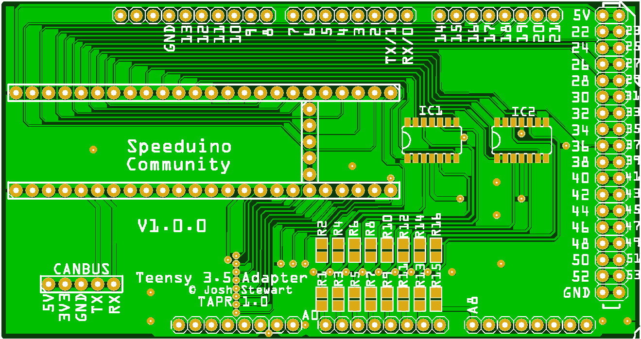 Teensy 3.5 Adapter Boards