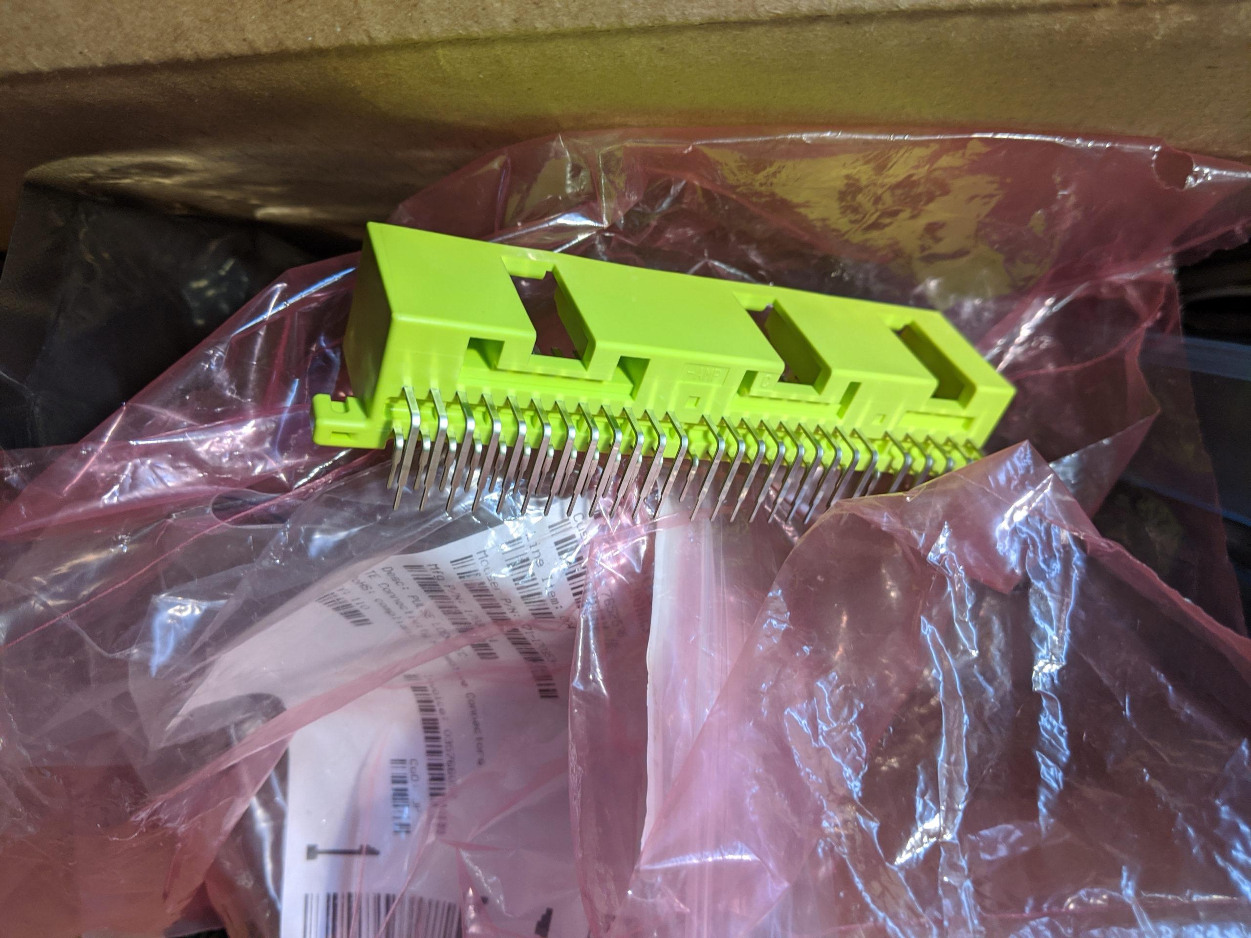 ECU-side Harness Plug